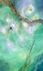 VIII of Pentacles Shadowscapes Tarot