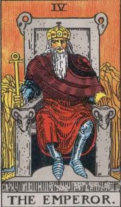 The Emperor Rider Waite Smith deck