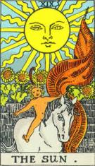 The Sun Rider Waite Smith deck