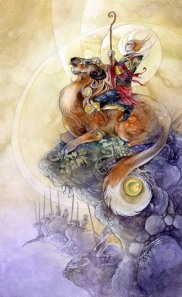 9 of Wands Shadowscapes Tarot