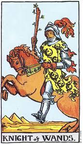 Knight of Wands Rider Waite tarot