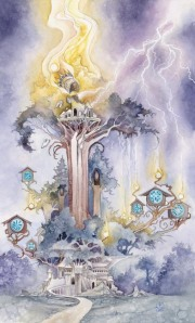 The Tower Shadowscapes Tarot
