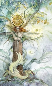 King of Pentacles Shadowscapes tarot