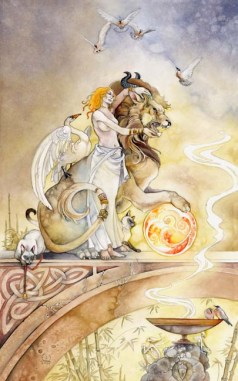 Strength Shadowscapes Tarot