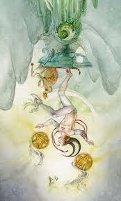 II of Pentacles Shadowscapes Tarot