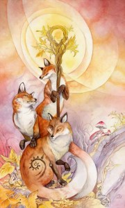 Ace of Wands Shadowscapes Tarot