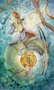 Knight of Pentacles Shadowscapes Tarot