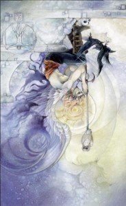 King Swords reversed Shadowscapes Tarot