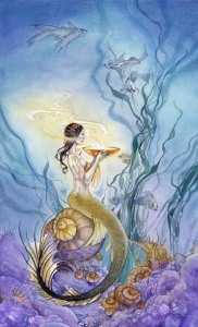 Page of Cups Shadowscapes tarot