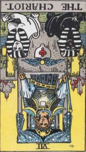The Chariot Rider Waite Smith tarot