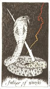 Father of Wands Wild Unknown Tarot