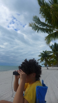 A quiet day on the beach can sometimes be the most productive healing time.  Plus binoculars + diving pelicans= best day ever!