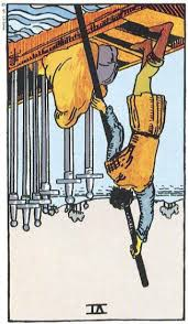 VI of Swords rxed Rider Waite Smith Tarot