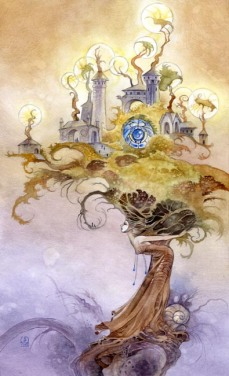 X of Wands Shadowscapes tarot