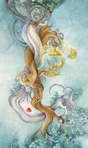 II of Cups Shadowscapes Tarot